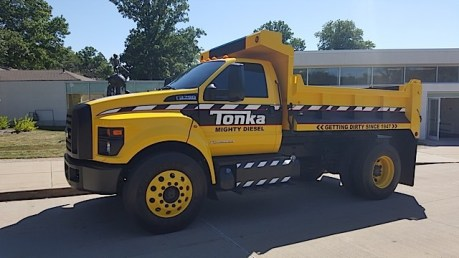 Ford F-750 Tonka Mighty Diesel - 2015-07-30 10.58.01