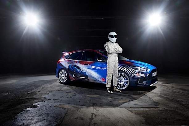 Ford GT and Gamer-Customised Forza Focus RS to Star During Gamescom; Top Gear's The Stig Helps Unveil One-Off Design