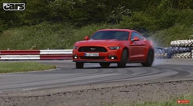 Chris Harris on Mustang