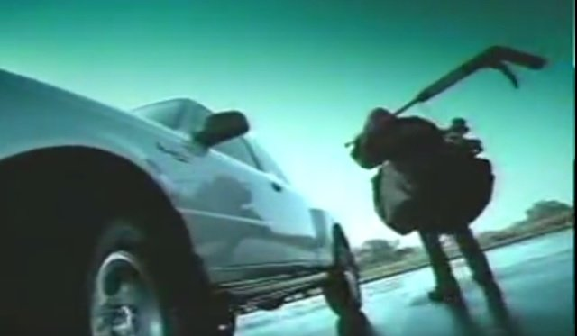 2001 ranger hockey ad