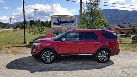 2016 Ford Explorer Platinum Adventure Tour - Kamloops to Calgary - The Calgary Stampede - 20150902_103223