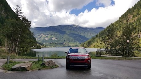 2016 Ford Explorer Platinum Adventure Tour - Kamloops to Calgary - The Calgary Stampede - 20150902_115327