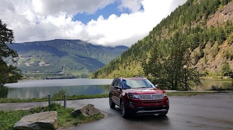 2016 Ford Explorer Platinum Adventure Tour - Kamloops to Calgary - The Calgary Stampede - 20150902_115336