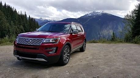 2016 Ford Explorer Platinum Adventure Tour - Kamloops to Calgary - The Calgary Stampede - 20150902_150517