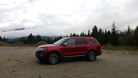 2016 Ford Explorer Platinum Adventure Tour - Kamloops to Calgary - The Calgary Stampede - 20150903_093849