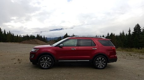 2016 Ford Explorer Platinum Adventure Tour - Kamloops to Calgary - The Calgary Stampede - 20150903_093909