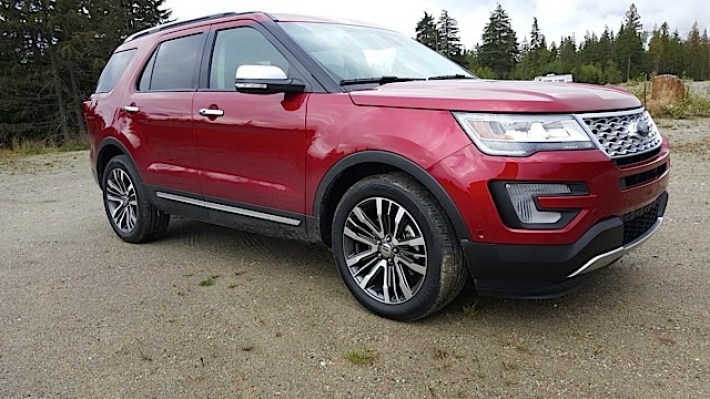 2016 Ford Explorer Platinum Adventure Tour - Kamloops to Calgary - The Calgary Stampede - 20150903_094204