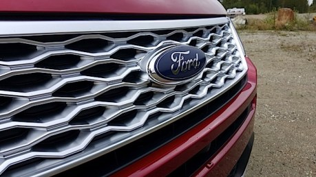2016 Ford Explorer Platinum Adventure Tour - Kamloops to Calgary - The Calgary Stampede - 20150903_094216