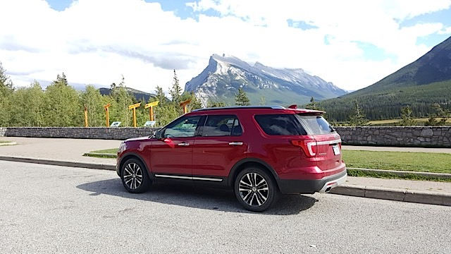 2016 Ford Explorer Platinum Adventure Tour - Kamloops to Calgary - The Calgary Stampede - 20150903_154505