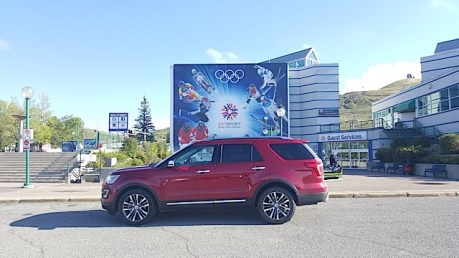 2016 Ford Explorer Platinum Adventure Tour - Kamloops to Calgary - The Calgary Stampede - 20150903_171849