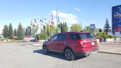 2016 Ford Explorer Platinum Adventure Tour - Kamloops to Calgary - The Calgary Stampede - 20150903_171911