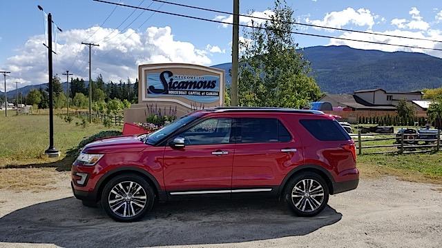 2016 Ford Explorer Platinum  Review - 20150902_103220