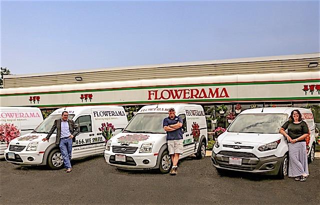 Transit - Flowerama vans