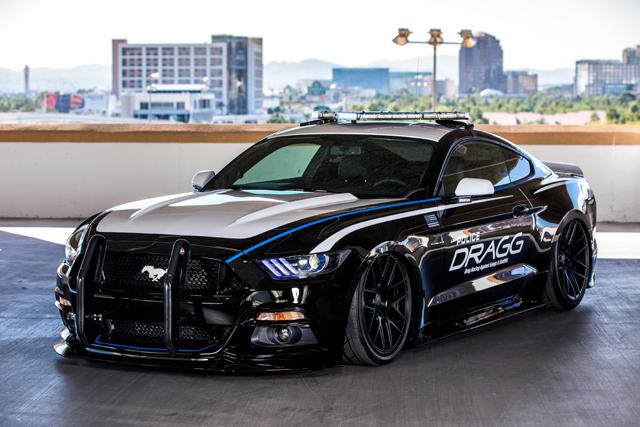 DRAGG Mustang -- 2015 SEMA