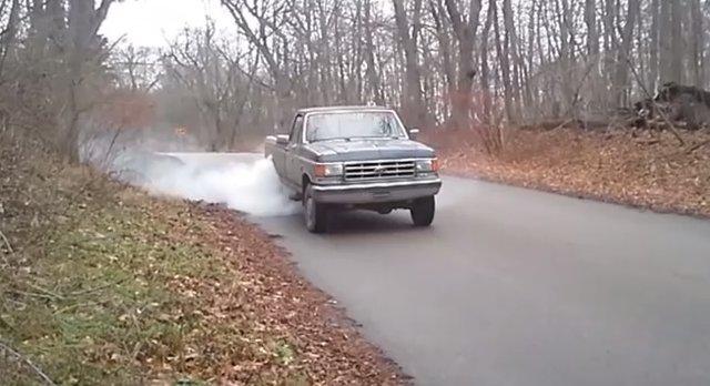 88 f250 burnout