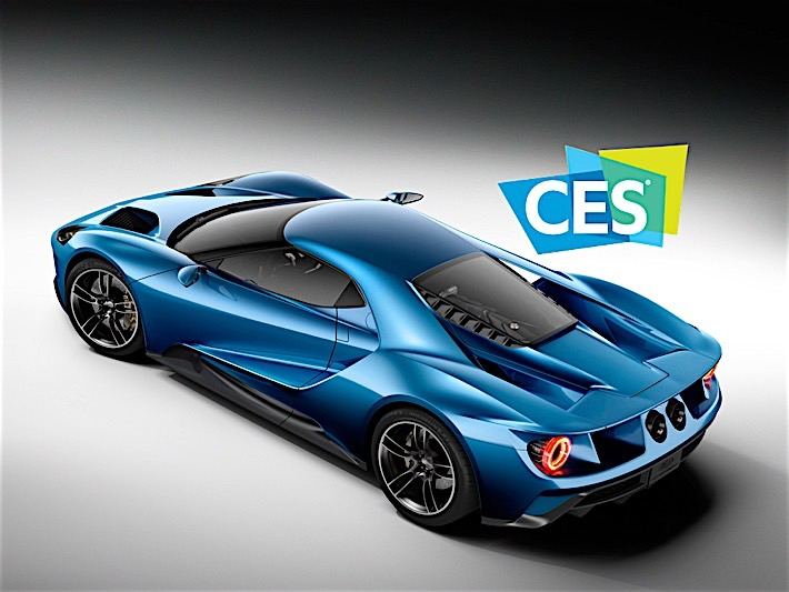 Ford Returns to CES 2016 with Ford GT as Official Show Vehicle