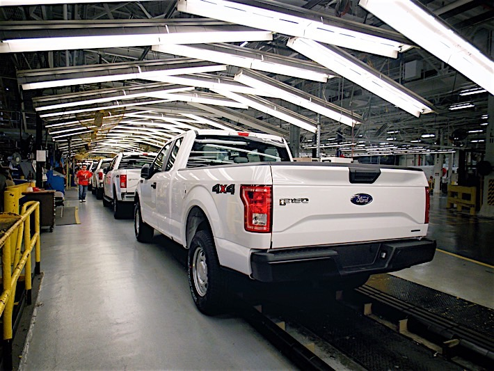 2016 Ford F-150 Rolls Off The Line