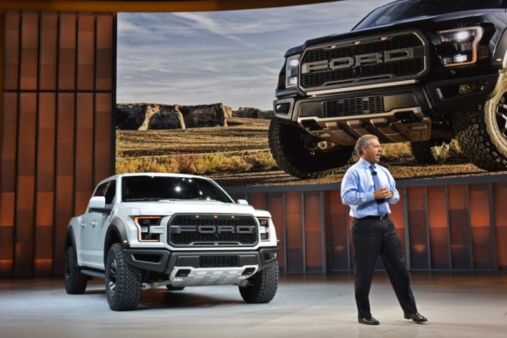 Joe-Hinrichs-introduces-new-Ford-F-150-Raptor-SuperCrew