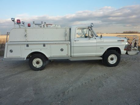 1971 Ford F250 Brush Fire Truck 1