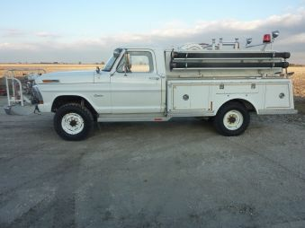 1971 Ford F250 Brush Fire Truck 6