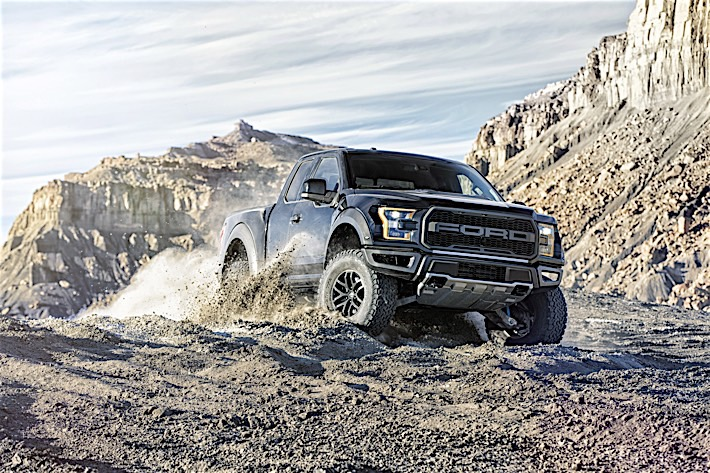 All-New 2017 Ford F-150 Raptor SuperCab