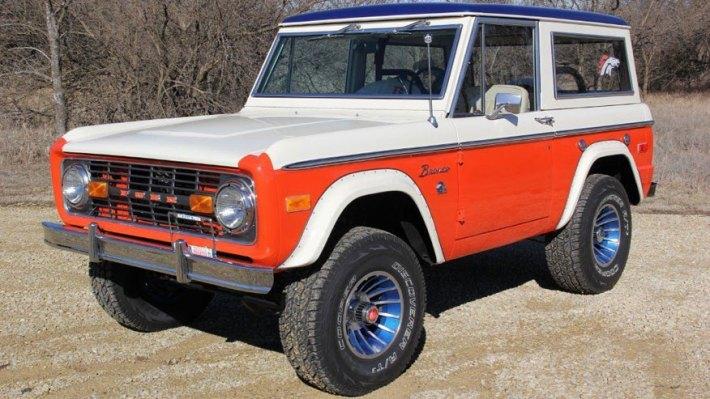 Denver Broncos Edition Ford Bronco