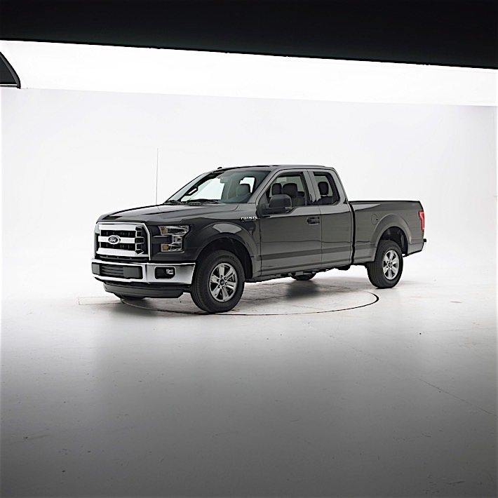 2016 Ford F-150 is IIHS Top Safety Pick and Safest Half-Ton