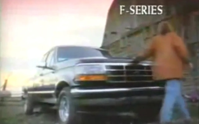 1995 ford commercial