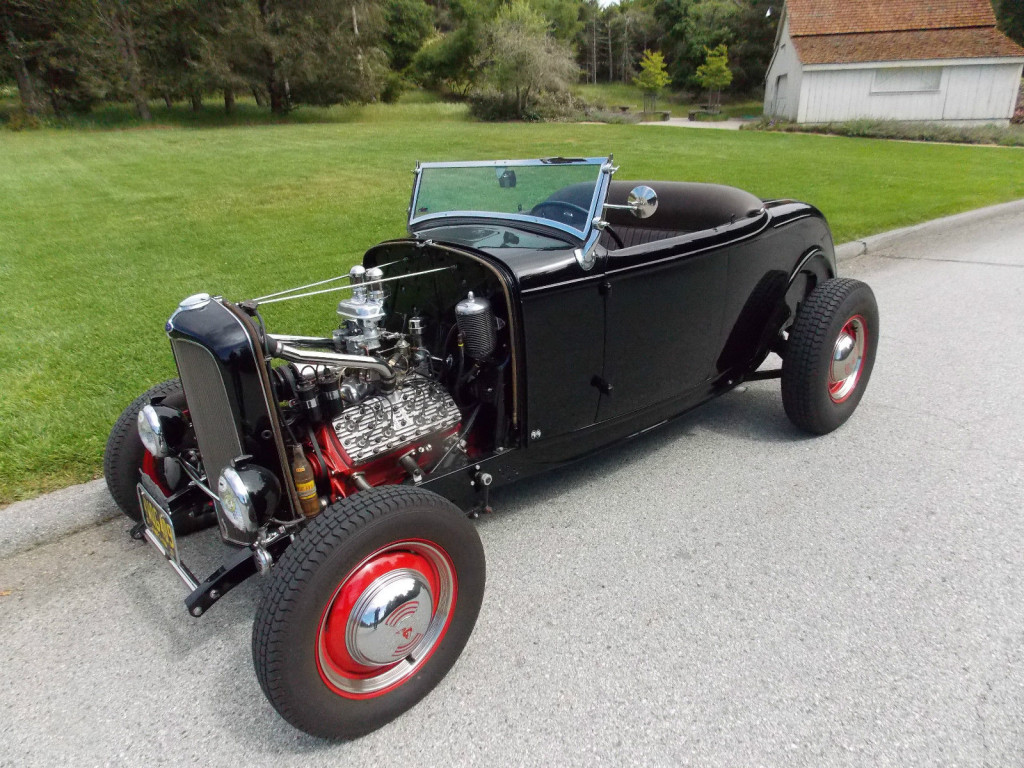 Cars Coffee Ready 1940s Fashioned Flashy 32 Ford Roadster 1932 Fuel Filter Take A Moment To Admire This Expert Built Road Tested Sporting Coveted Hot Rod Speed Componentry