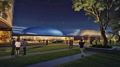 Dearborn Campus Transformation: Design Center Courtyard