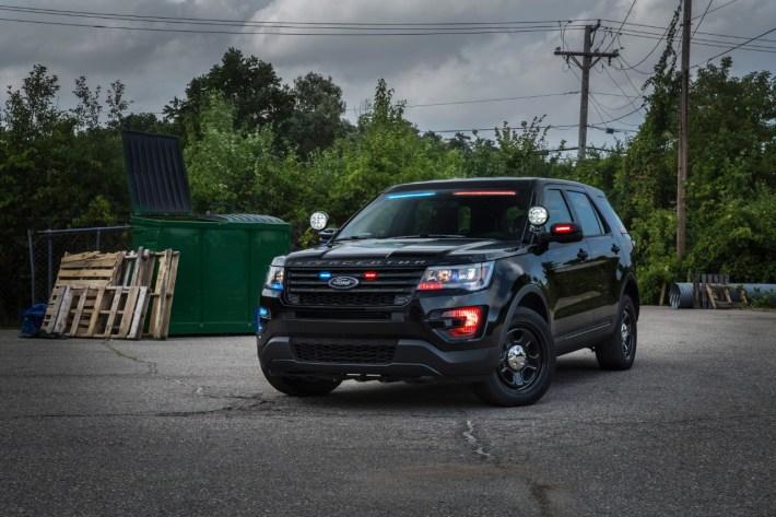 Ford Police Interceptor Utility Visor Light Bar 1