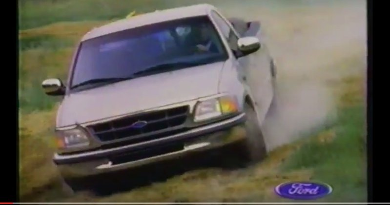 1997 ford f150 ad