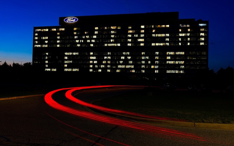 Lights_Ford-World-Headquarters