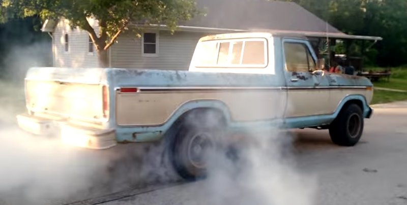 ford f100 single tire