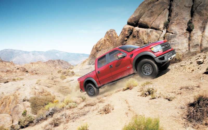 Ford-F-150-SVT-Raptor-Special-Edition-featuring-enhanced-off-road-capabilities