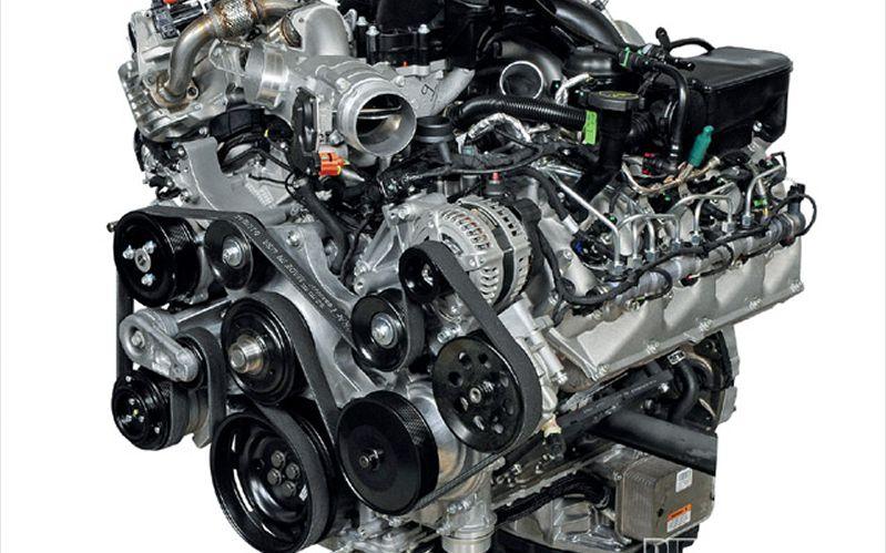 0911dp_022011_ford_f350_super_dutypowerstroke_diesel_engine