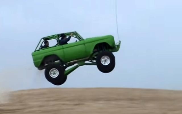 ford bronco jumps big at silver lake sand dunes ford trucks com rh ford trucks com 1969 Ford Bronco Ford Bronco II