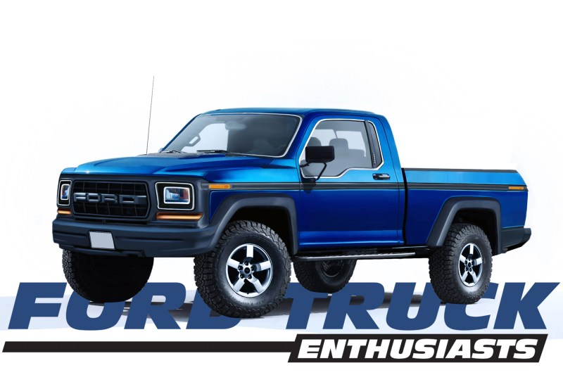 Retro Ford Raptor Reimagined
