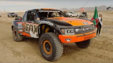 Justin Lofton - Mint 400 - Ford Raptor