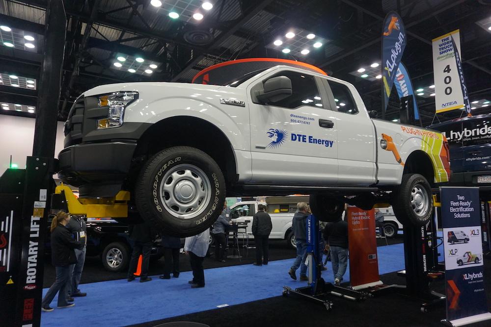 hybrid  ev work trucks  perfect sense ford truckscom