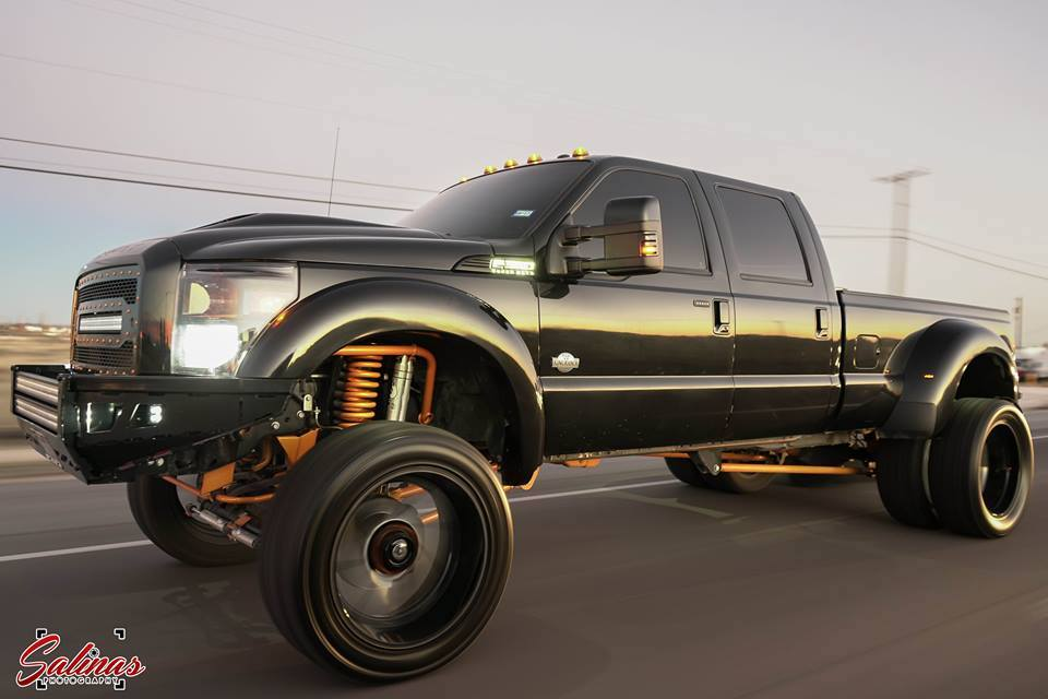 Big Truck Tires >> Truck Trends Big Wheels Small Tires On A 4x4 Ford