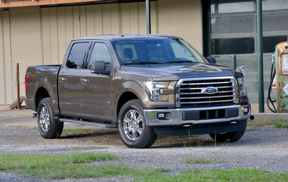 2015 F-150 Front End Exterior