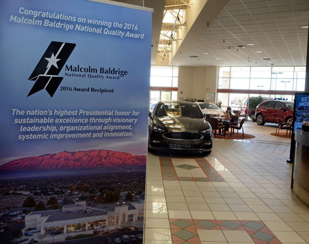 Ford Dealership Albuquerque >> Ford Dealership Earns Highest Quality Award In The Country