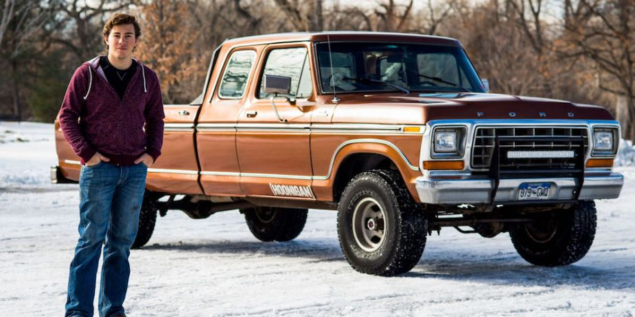 1978 Ford F-150 Front End Exterior