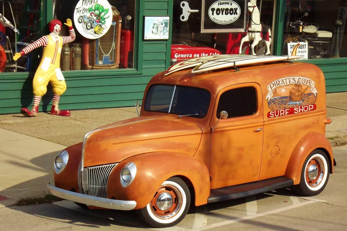Craigslist Find: Restored 1940 Ford Panel Delivery Truck