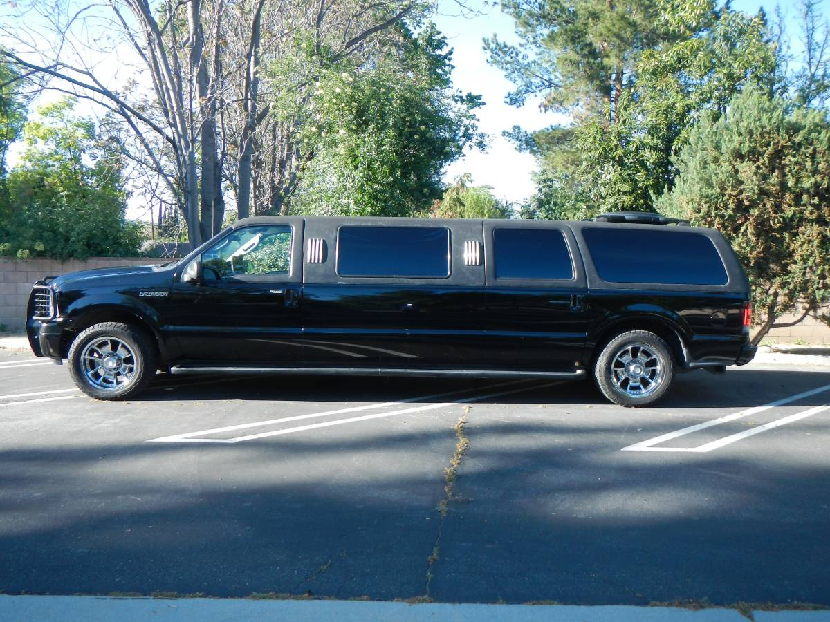 Craigslist Find Swanky Ford Excursion Limo Ford Trucks Com