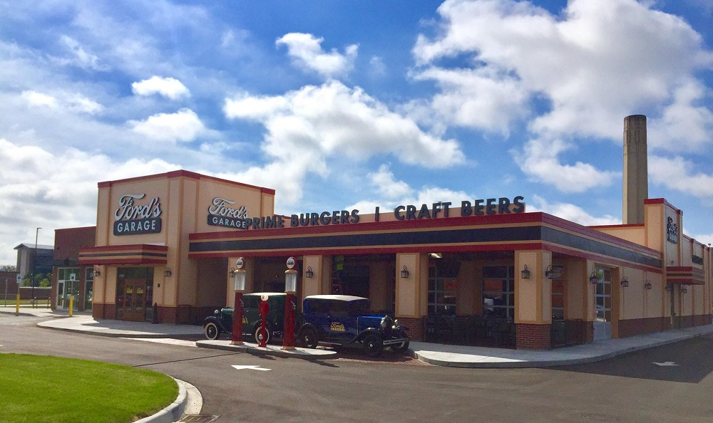 Fords Garage Serves Hot Food Cold Beers and Loads of