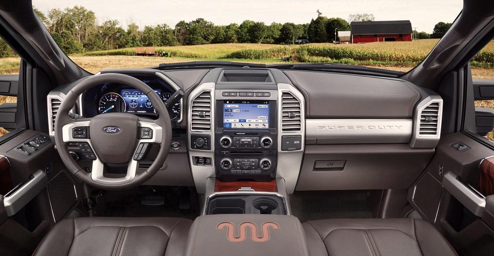 2017 Ford F 350 Super Duty King Ranch Crew Cab 4x4 Interior Ford