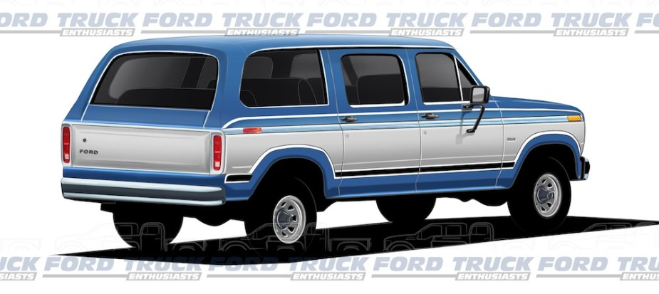 1980s Reimagined Ford Excursion