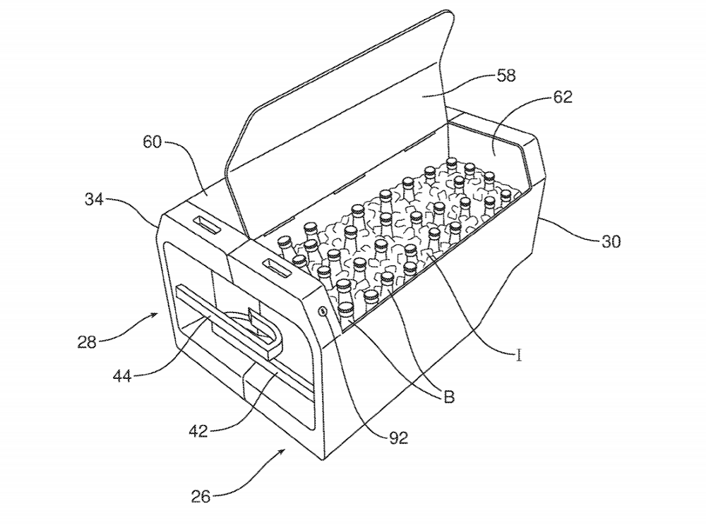 New Ford Patent Reveals Built Inslide Out Beer Cooler